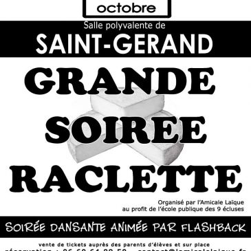 Soirée Raclette 2016